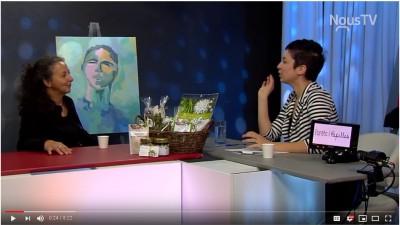2018-10-Rendez-vous- Julie Niquette sur la chaîne NousTV Laurentides