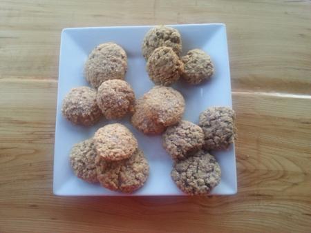les galettes à à l'avoine au sucre de forêts et Papilles450
